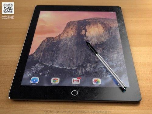 iPad Pro avec stylet : un concept de Martin Hajek