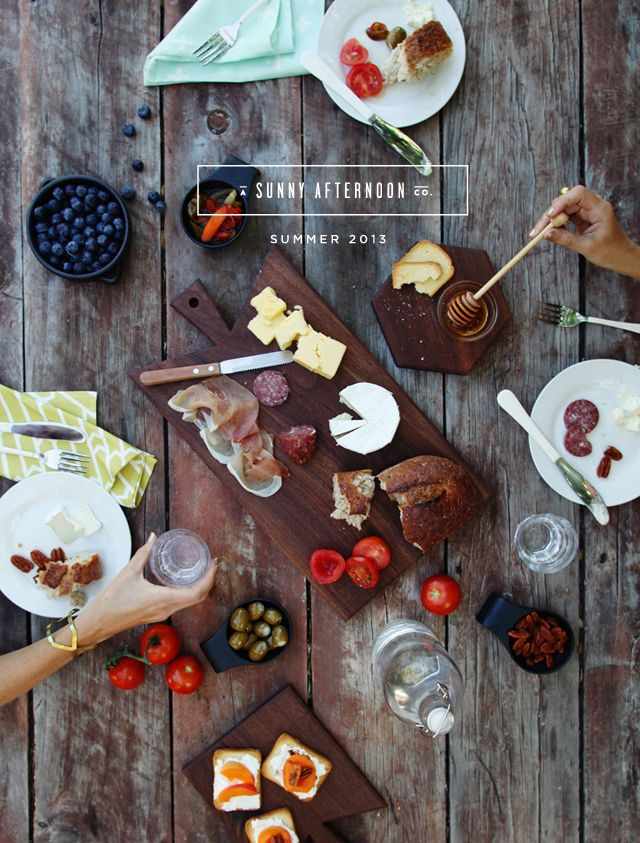 All the perfect picnic essentials: a sunny afternoon launch via smitten studio