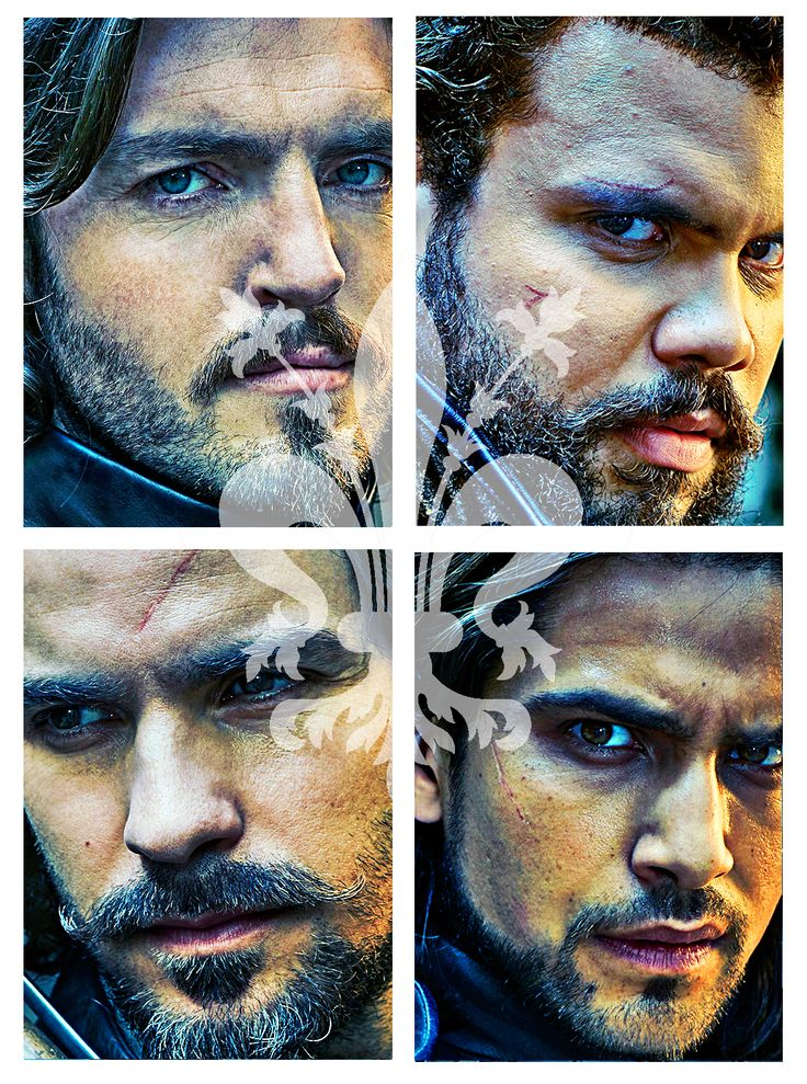 The Musketeers - Credit to paintedimaginings on tumblr