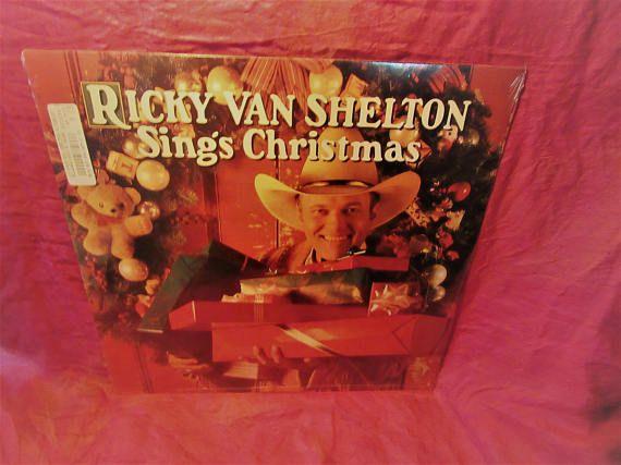 Amazing Ricky Van Shelton Sings Christmas  Vinyl Record