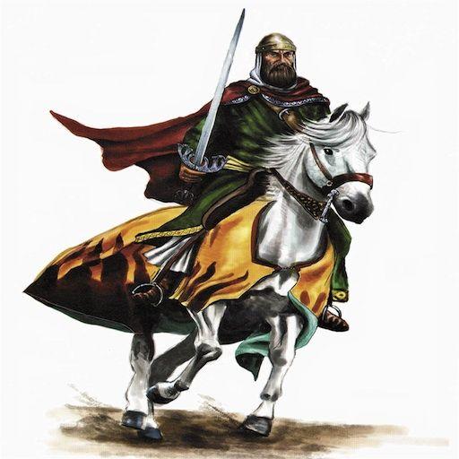 Ya aguijan a los caballos, ya les soltaron las riendas. Cuando salen de Vivar ven la corneja a la diestra, pero al ir a entrar en Burgos la llevaban a su izquierda