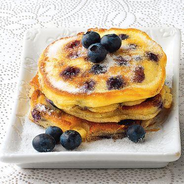 Heidelbeer-Buttermilch-Pancakes Rezept | Küchengötter
