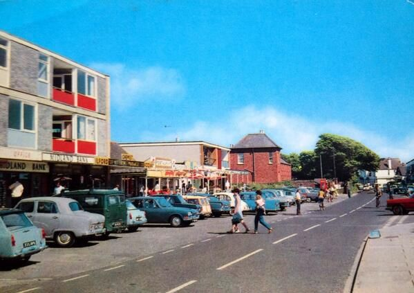 East Wittering parade circa 1960/70s