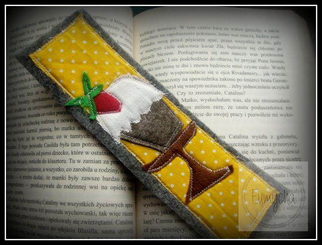 Mufinka z truskawką i coś dla miłośniczek literatury | Robótkowy Świat Eumychy