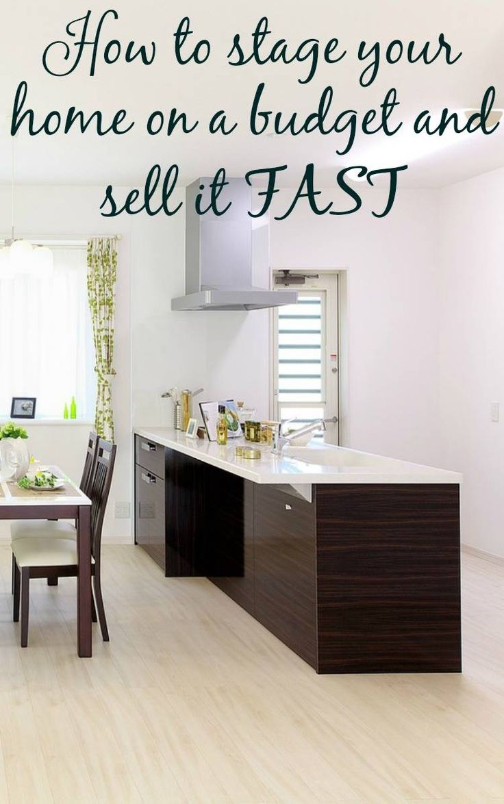 Stage your home on a budget and sell it fast dressing for How to stage a house to sell