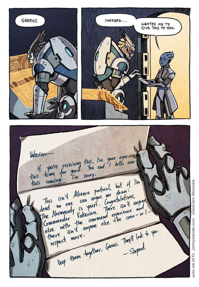 What are you doing. - Mass Effect 3 Epilogue Comic. - aidosaur.tumblr