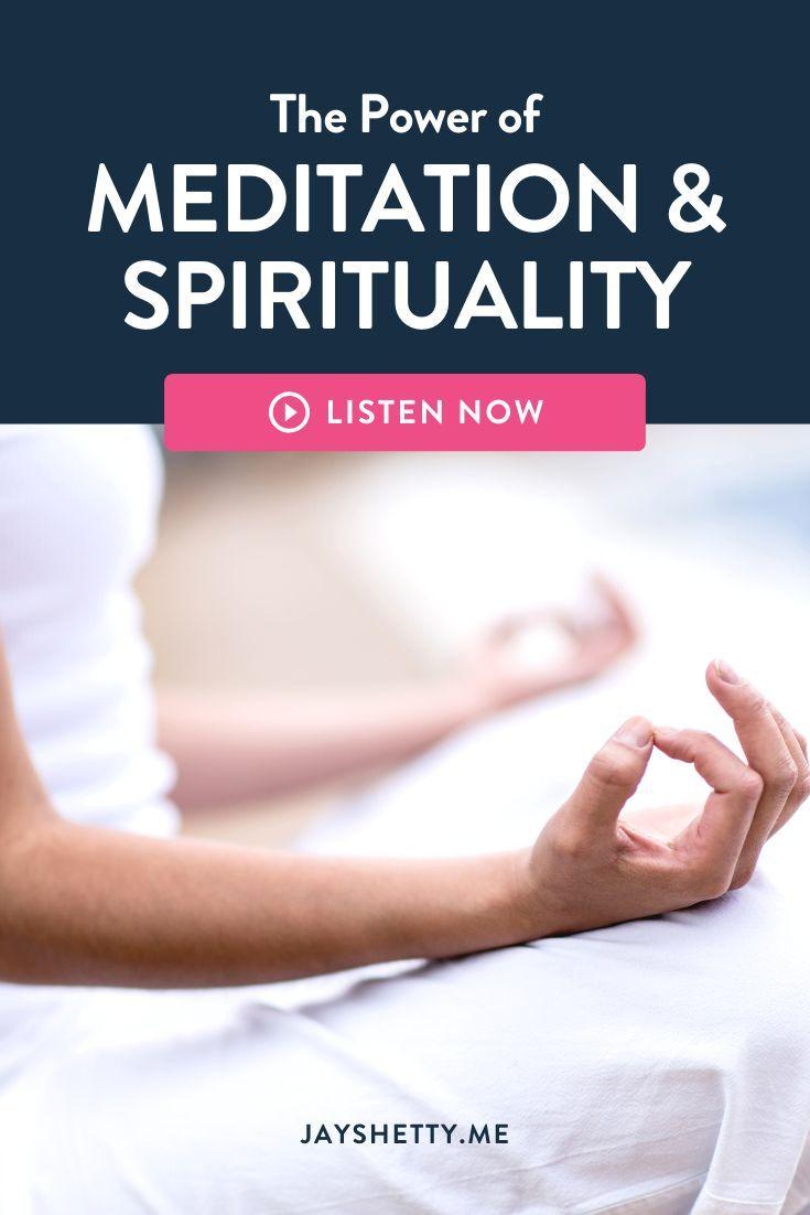 Jay Shetty and Deepak Chopra talk about meditation ...