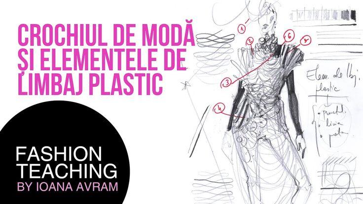 Crochiul de moda si elementele de limbaj plastic