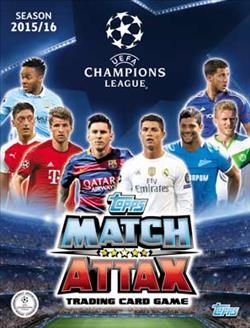 Match Attax UEFA Champions League 2015-2016