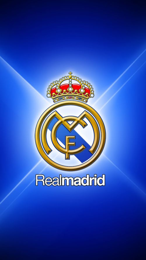 File attachment for Apple iPhone 6 HD Wallpaper - Real Madrid Logo