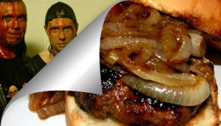 "Hamburger ""Hardening of the Arteries"" alla Slayer by Enrico Salvini / 'Hardening the Arteries' Hamburger"