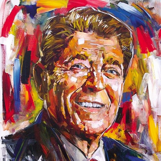 """Steve Penley  """"Ronald Reagan"""""""