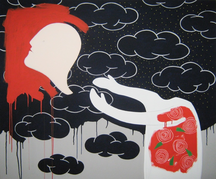 """andrea mattiello  """"mangio pizza e vivo d'illusioni""""  acrilico,grafite e collage cm 120x100; 2011 #andreamattiello #mattiello #arte #art #contemporaryart #italianartist #artista #artistaemergente #acrilico #tela #tecnicamista #acrylic #canvas #collage"""