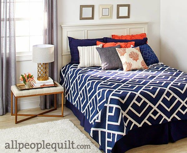 In the Navy- A Piece N Quilt Original Design | Piece N Quilt | Bloglovin'