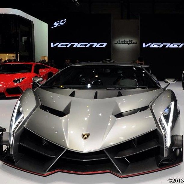 The Lamborghini Veneno -