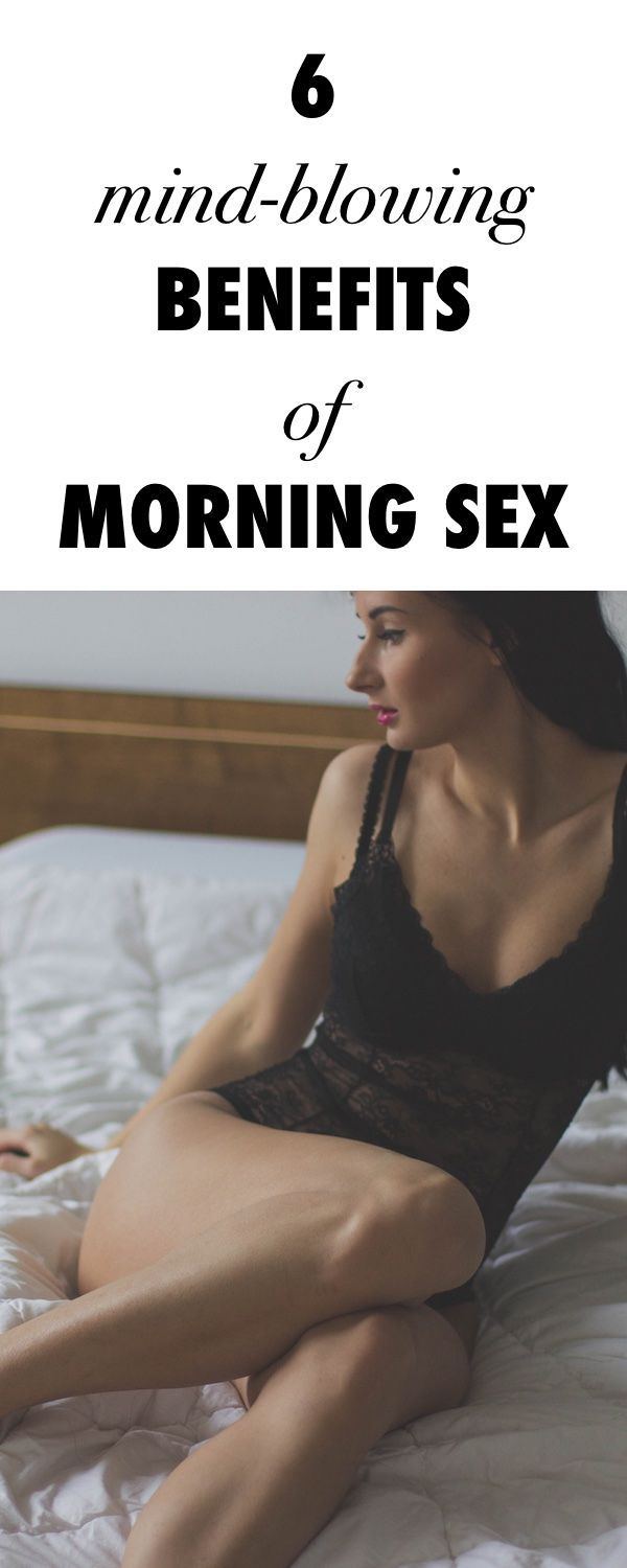 8 reasons for morning sex