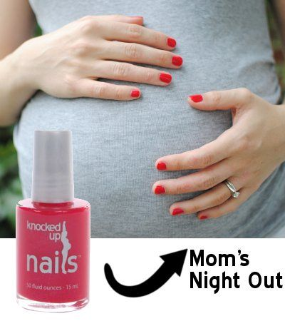 5-Free Maternity Safe Nail Polish : Knocked Up Nails