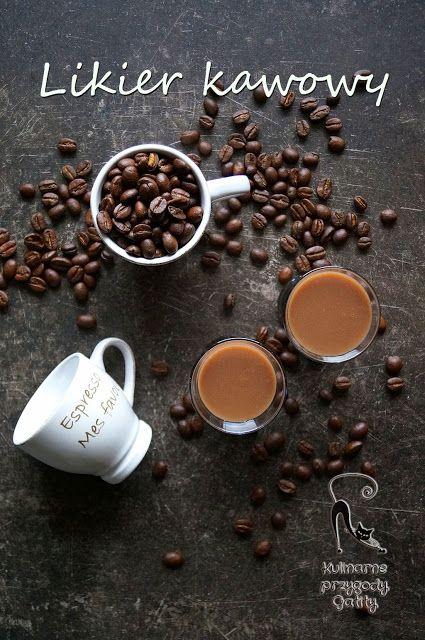 Kulinarne przygody Gatity: Domowy likier kawowy