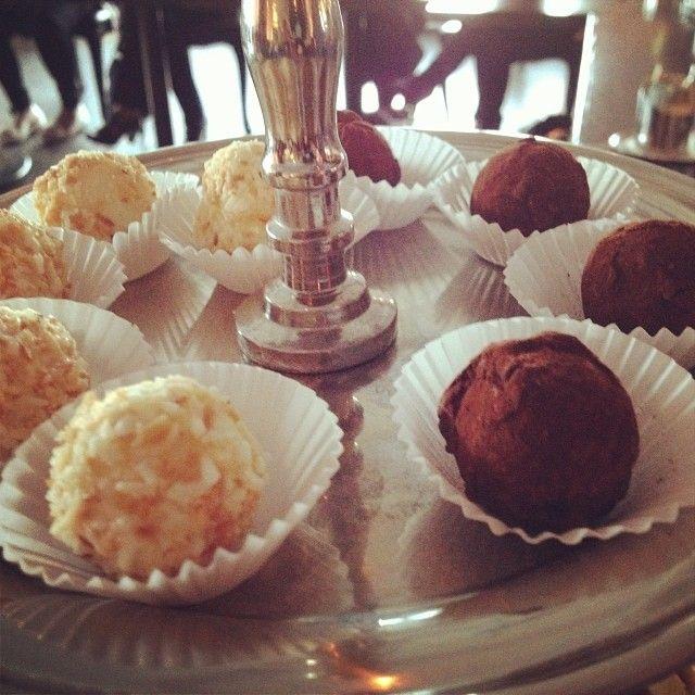 Delectable truffles at Trump Toronto   Instagram