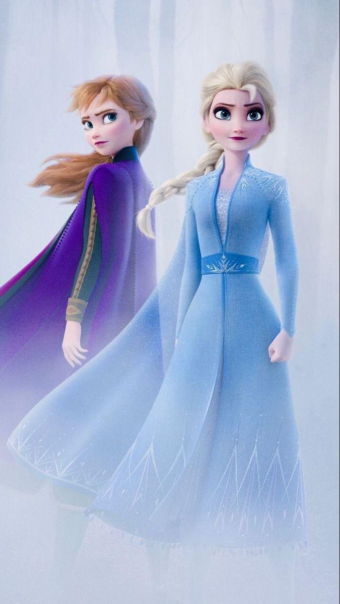 Anna And Elsa In 2020 Disney Princess Elsa Disney Princess Frozen Frozen Disney Movie