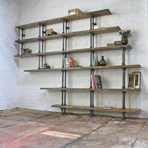 DIY: Ιδέες και τρόποι για να φτιάξετε πρωτότυπες βιβλιοθήκες