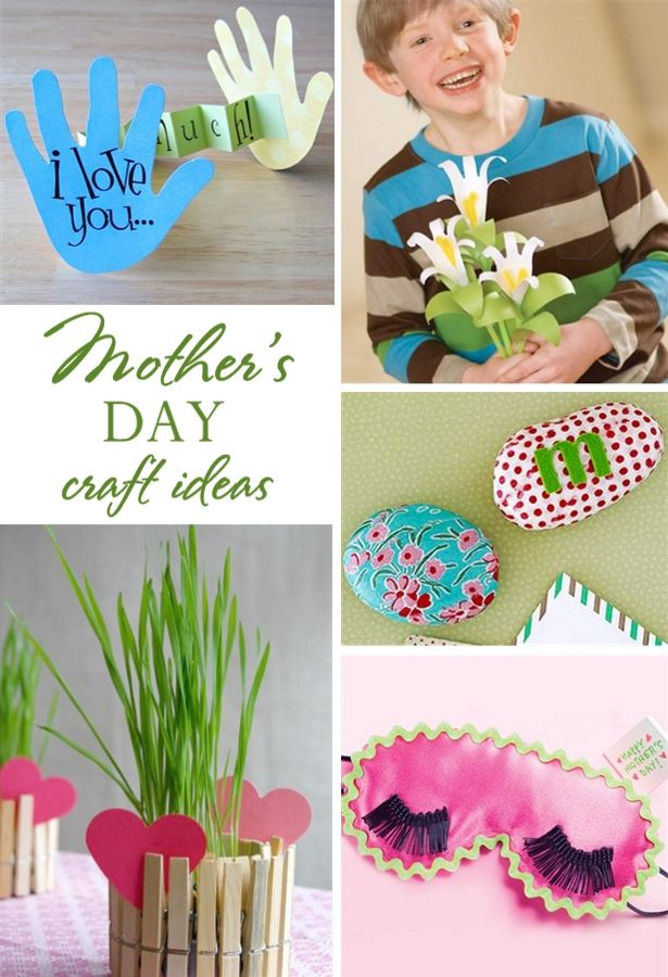 5 Easy Mother's Day Kid Craft Ideas | Back to, The kid and ...