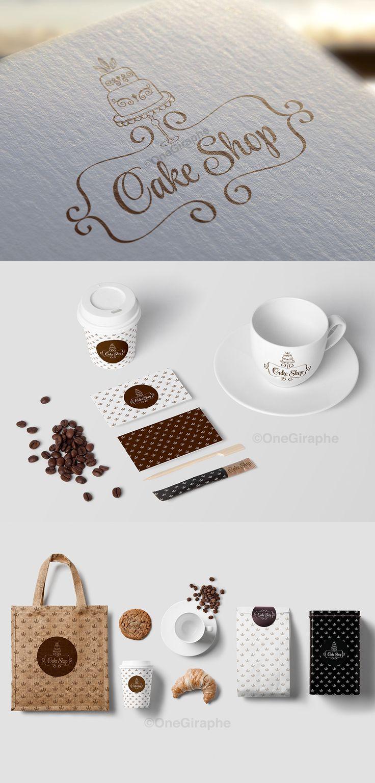 Branding for Cake, Cupcake & Bakery   - Portfolio #cake #logo#bakery #stand #pink #logo #design #sale #logostore #stocklogos #logopond#behance #brand #identity #brandidentity #graphic #graphicdesign #designer #gold#classic
