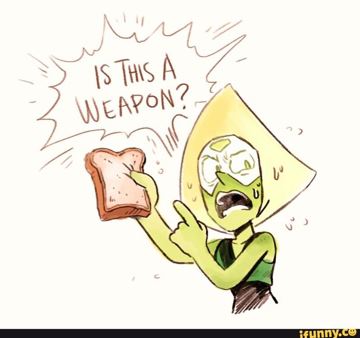 No Patrick, bread is not a weapon