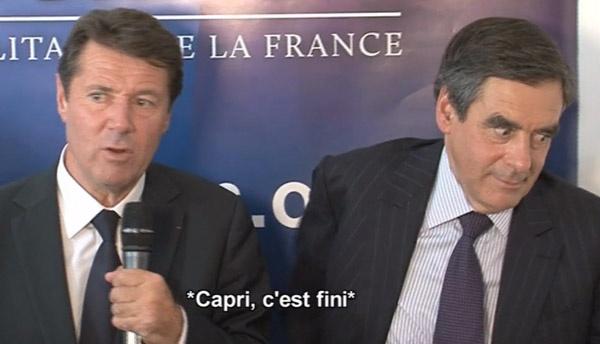 La sonnerie de portable de François Fillon