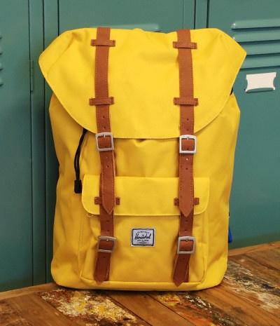 Herschel Little America Mid-Volume Backpack - Beeswax   NoteMaker - Australia's Leading Online Stationery Shop