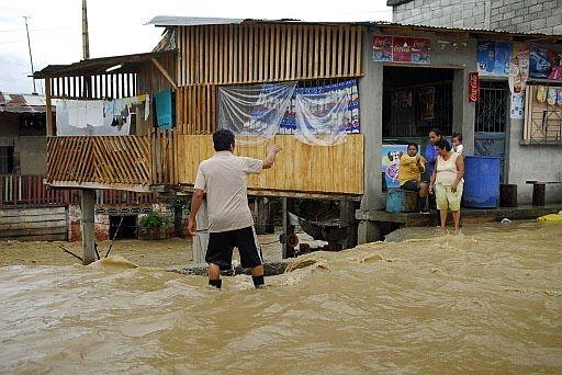Inundación, Ecuador, 2008