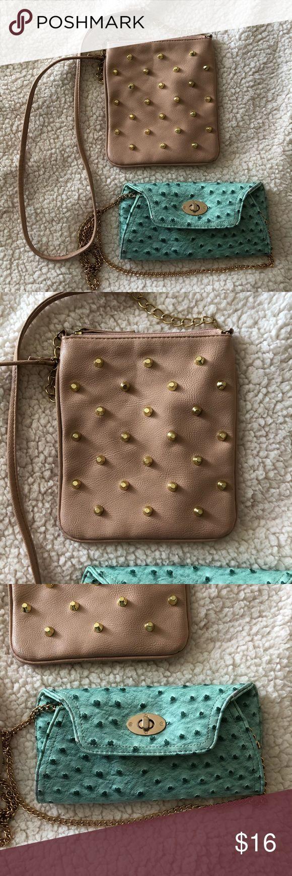 2 Charlotte Russe Crossbody Bags Cute Crossbody bags Charlotte Russe Bags Crossbody Bags