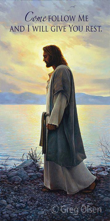 come follow me - my favourite picture of the saviour