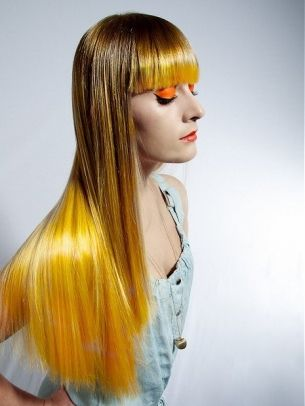 Cool Multi-Chromatic Hair Color Ideas for Fall 2012