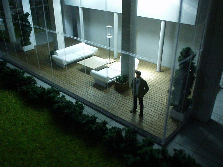 Maqueta Edificio Soho Iluminated - Escala 1:75