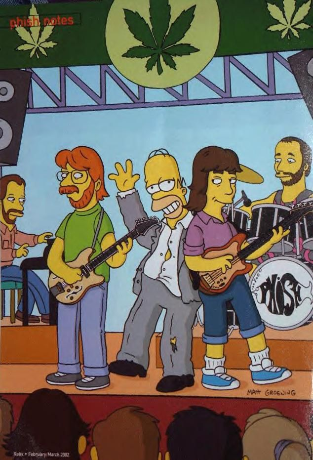Phish with Homer