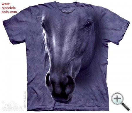 LÓ PORTRÉ The Mountain lovas gyermek és felnőtt póló.