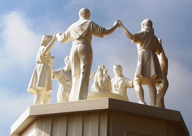 Monument a la Sardana   Calella by anthsnap!, via Flickr