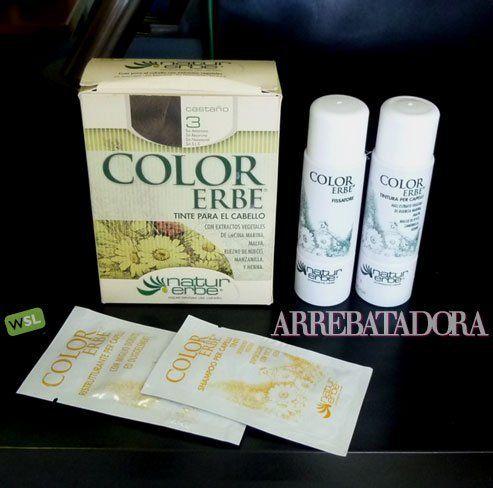 Color Erbe, mi tinte de pelo sin amoníaco: color y brillo