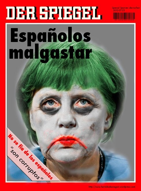 Angela Merkel - Joker   Más> http://www.nuevoorden.es/2012/merkel-admite-las-medidas-impuestas/