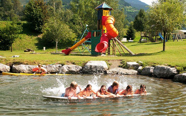 Camping Sportcamp - SalzburgBruck/Grossglockner - heel veel voorzineingen, goede reviews, zwembad, meertje, ...