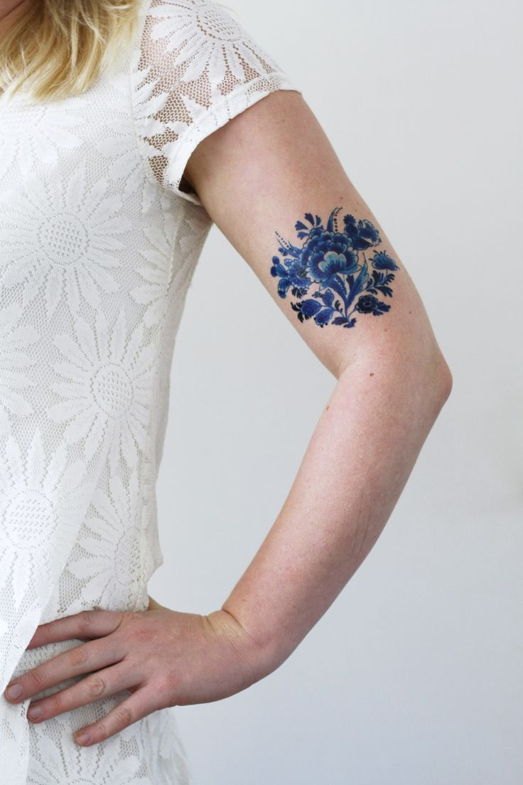 Pin eulen tattoo bedeutungen f on pinterest - Delft Blue Tattoo