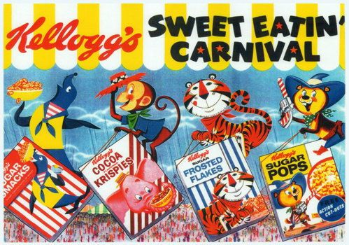 Kellogg's Cereal Ad.