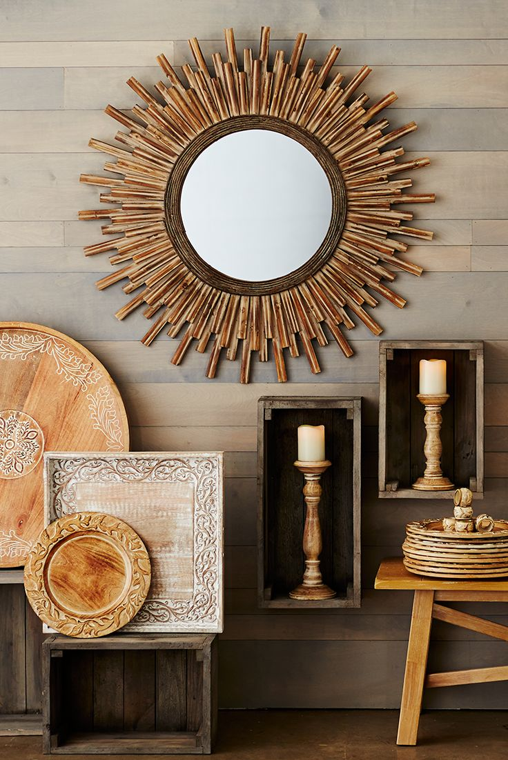 The Decorative Frame Of Pier 1 S Honey Stained Wood