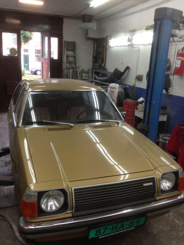 Old Mazda 323........