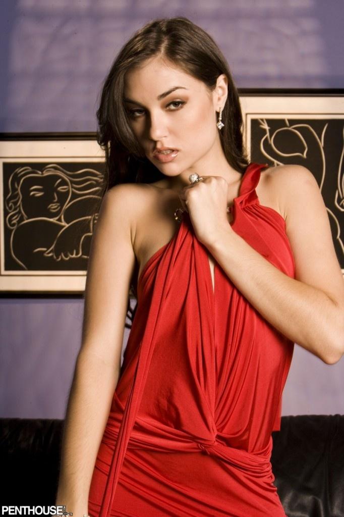 Sasha grey red