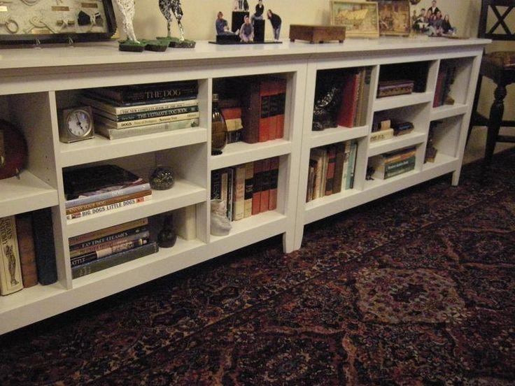 Threshold Horizontal bookshelves from Target - two units, side by side. For  base of - Cele Mai Bune 25+ De Idei Despre Horizontal Bookcase Pe Pinterest