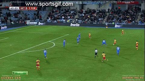 Lionel Messi amazing goal GIF