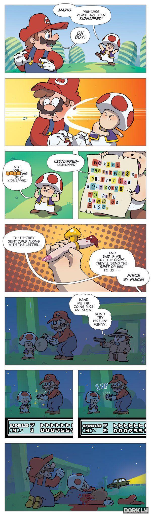 Not Another Castle - Dorkly Comic