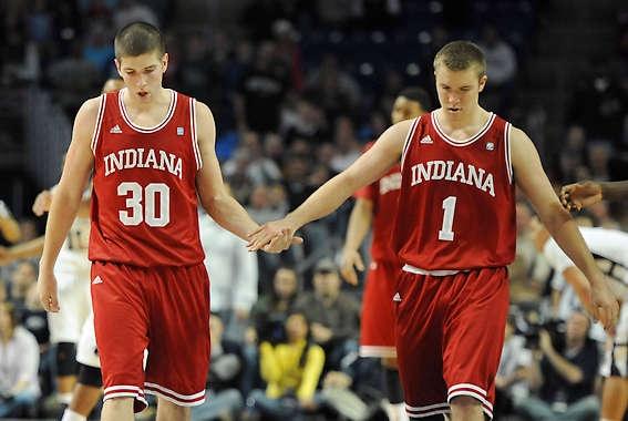 Matt Roth and Jordan Hulls - Indiana